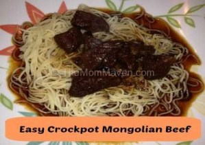 Easy Recipes-Crockpot Mongolian Beef
