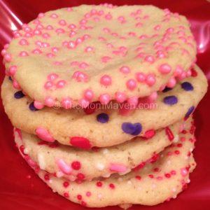 easy recipes-sprinkled sugar cookies