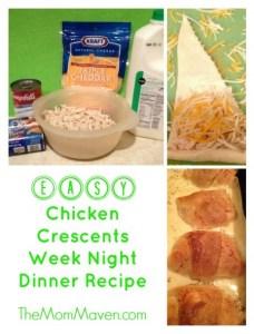 Eay Chicken Crescents Recipe