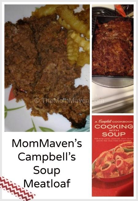 MomMavens Campbell's Soup Meatloaf