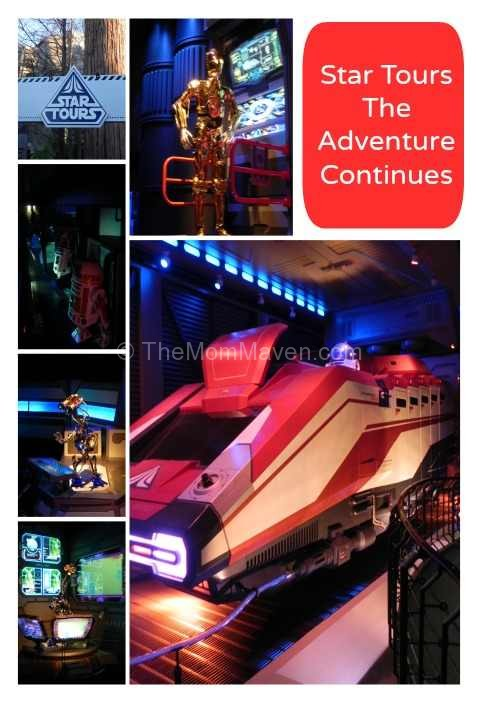 Star Tours queue