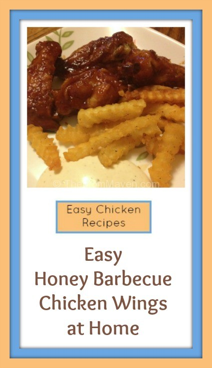 Easy Honey Barbecue Chicken Wings Recipe