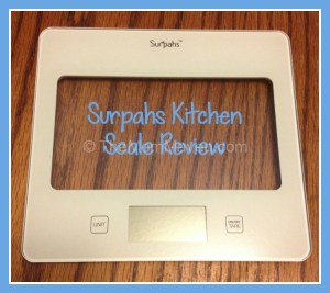 Surpahs Kitchen Scale Review