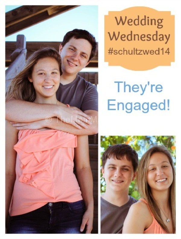 Wedding Wednesday-They're Engaged