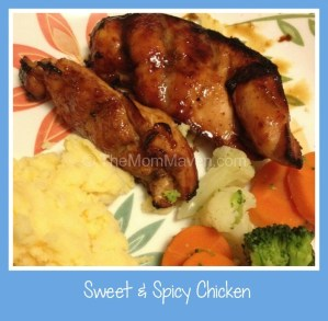 Easy Recipes-Sweet and Spicy Chicken
