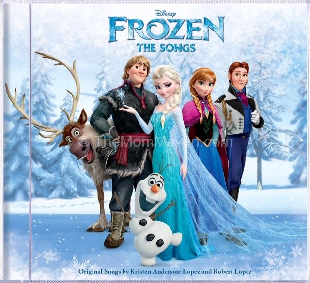 Frozen: The Songs Cd Giveaway TheMomMaven.com