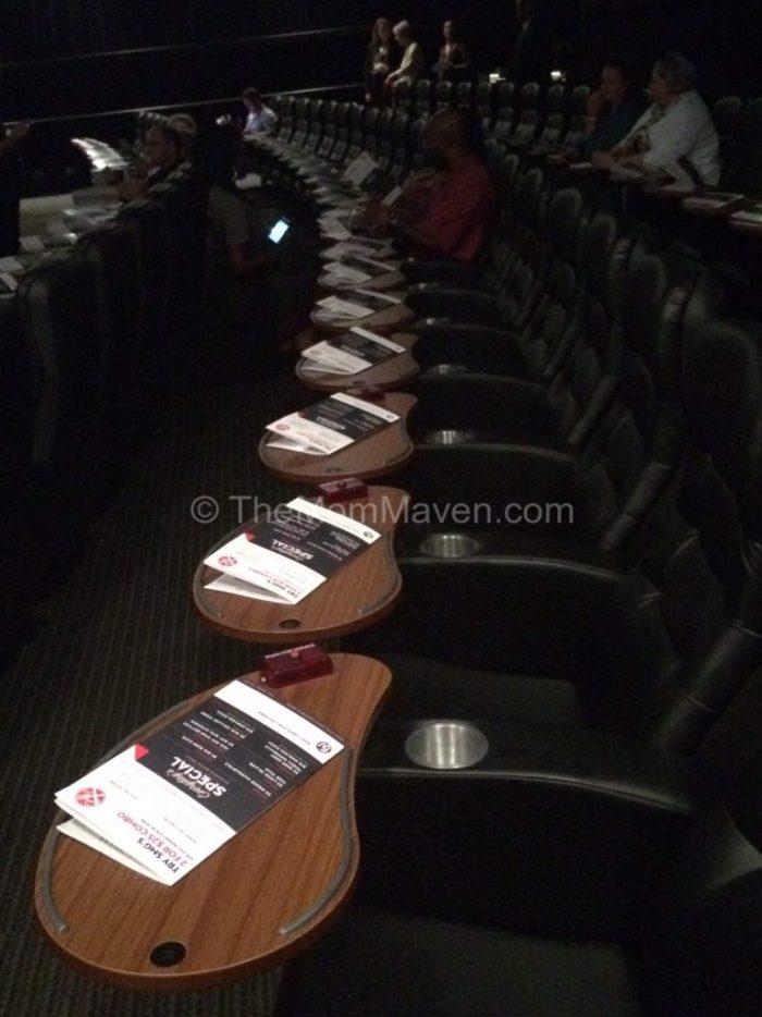Studio Movie Grill Tampa Seating TheMomMaven.com