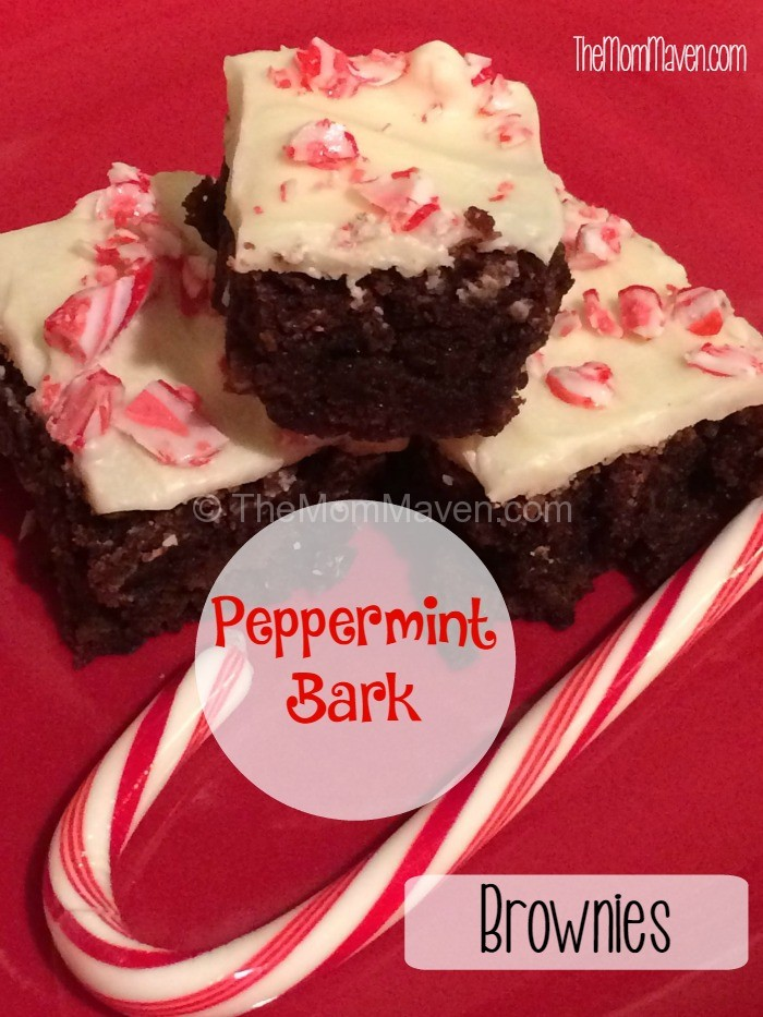 Looking for a simple Christmas treat? My Peppermint Bark Brownies are just what you are looking for!