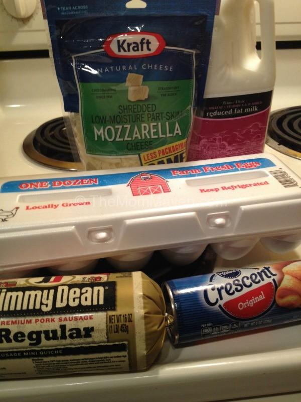 Ingredients-Holiday Breakfast Casserole