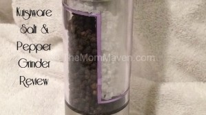 Kuisiware Salt and Pepper Grinder Review
