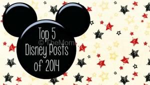 Top 5 Disney Posts of 2014