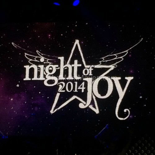 2015 Night of Joy tickets are on sale now