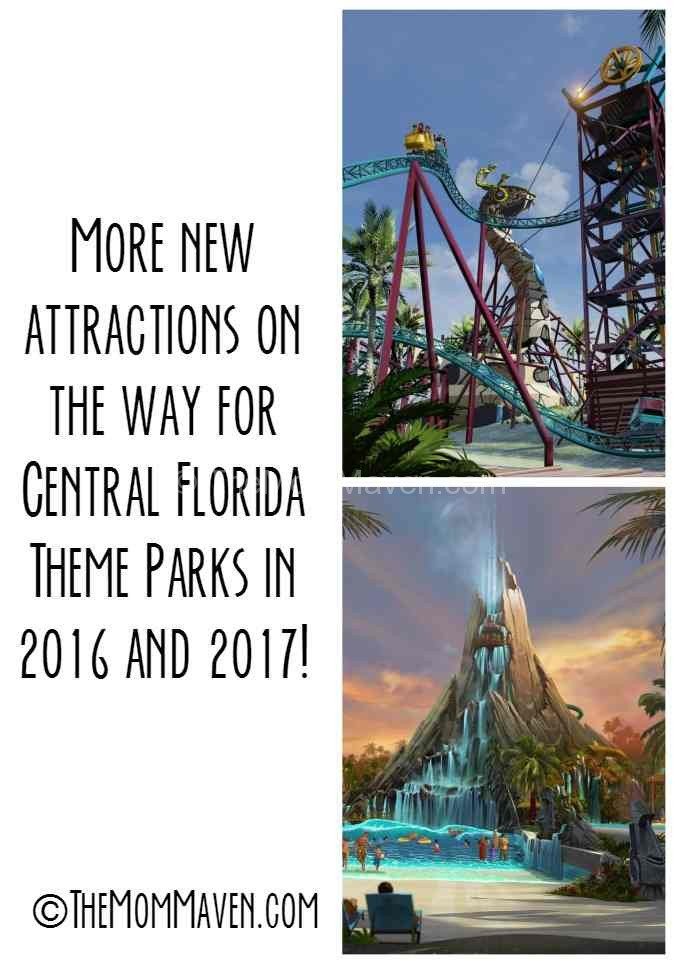 New Central Florida Attractions coming in 2016 and 2017