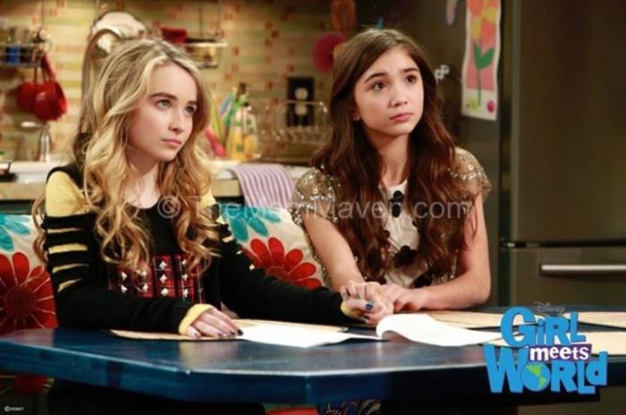 Riley & Maya-Girl Meets World photo courtesy of Disney Channel