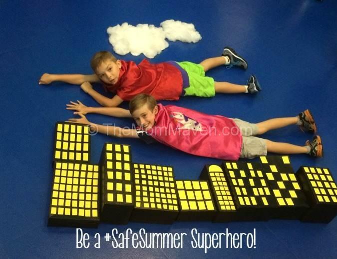 Be a Safe Summer Superhero