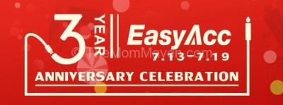EasyAcc 3rd Anniversary Sale