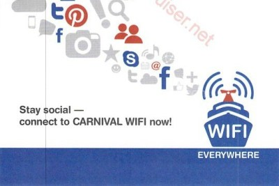 Staying Connected at Sea with Carnival Wifi Everywhere