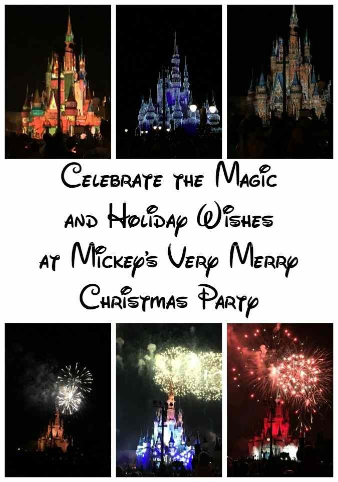 Celebrate the Magic and Holiday Wishes at Mickey's Very Merry Christmas Party 2015