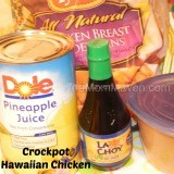 Crockpot Hawaiian Chicken Recipe