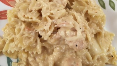 Creamy Crockpot Chicken and Pasta