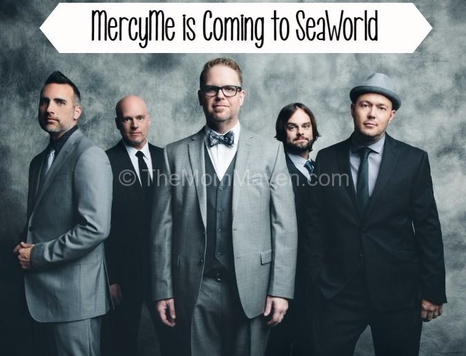 MercyMe is Coming to Praise Wave at SeaWorld