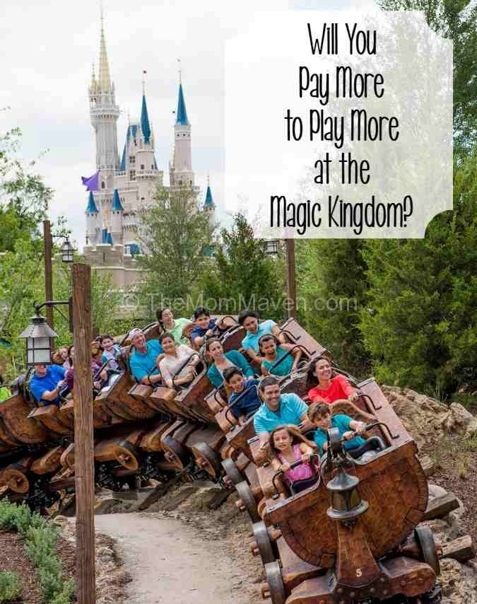 Will you pay more to play more at the Magic Kingdom