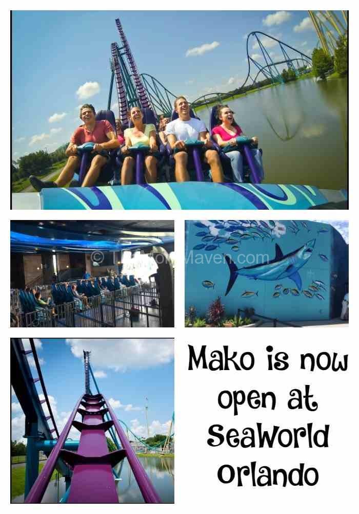 Mako is Now Open at SeaWorld Orlando