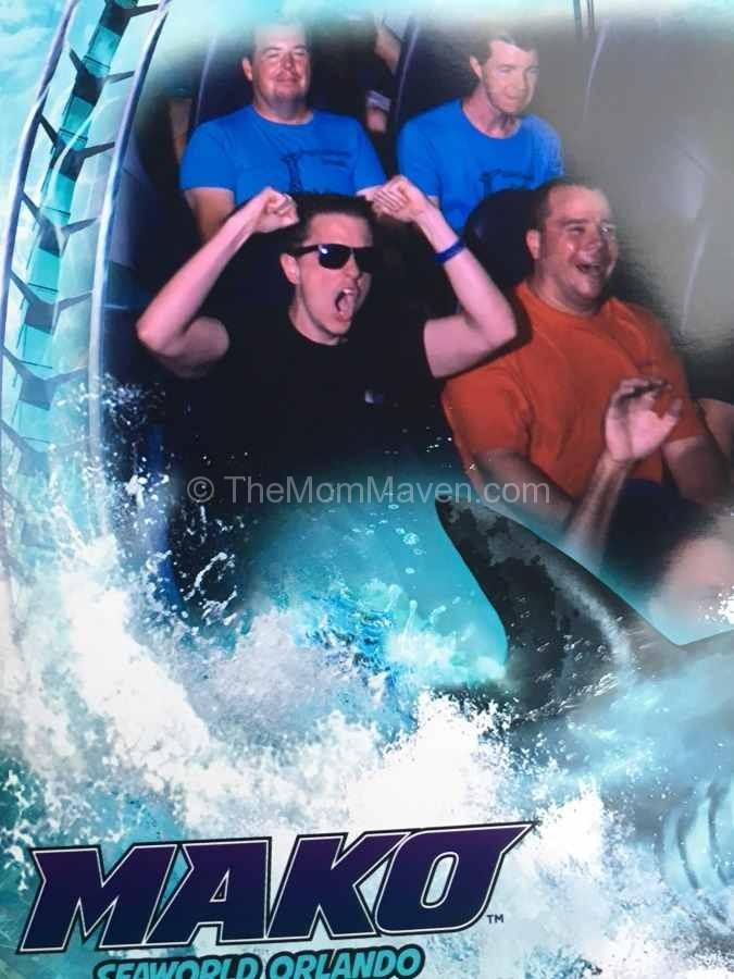 Mako ride photo at SeaWorld Orlando