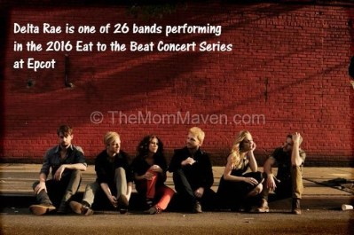 2016 Eat to The Beat Concert Series at Epcot