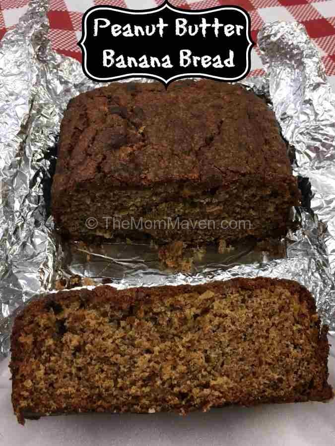 This peanut butter banana bread is a recipe even Elvis would love!
