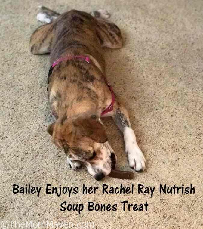 Treat your dog to Rachel Ray Nutrish Soup Bones.
