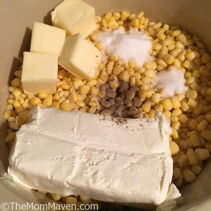 Smooth and Creamy Crockpot Creamed Corn is an easy dump recipe you can make in just 3 hours!