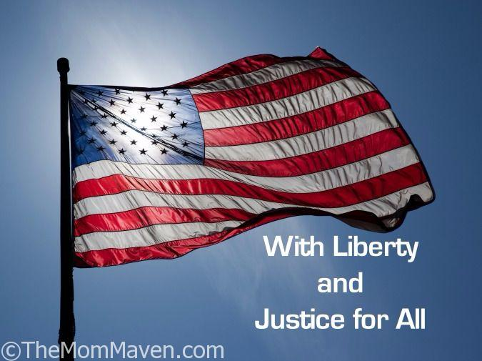 With liberty and justice for all-my thoughts on post election America.