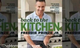 Autographed Freddie Prinze Jr Cookbook Giveaway