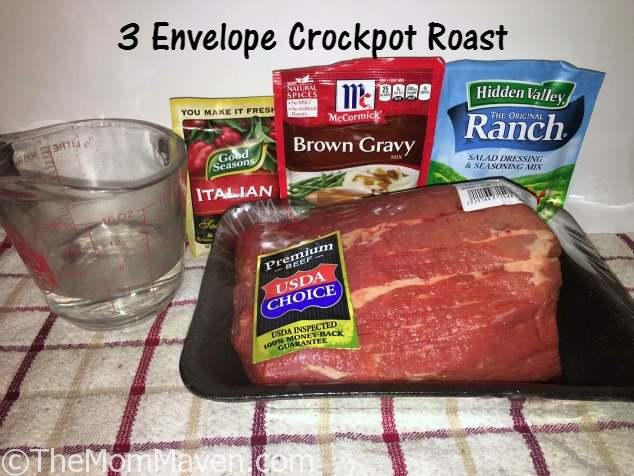 3 envelope crockpot roast top recipe of 2016