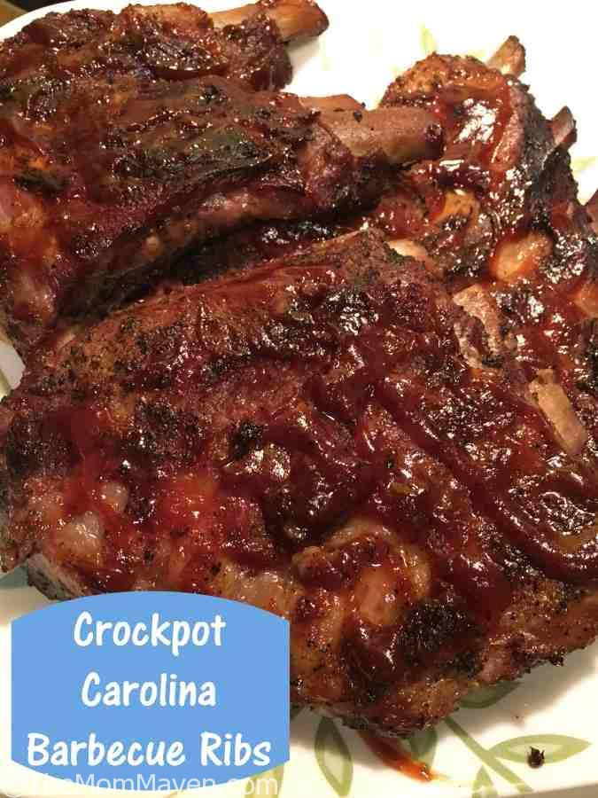 Crockpot Carolina barbecue Ribs top recipe post of 2016
