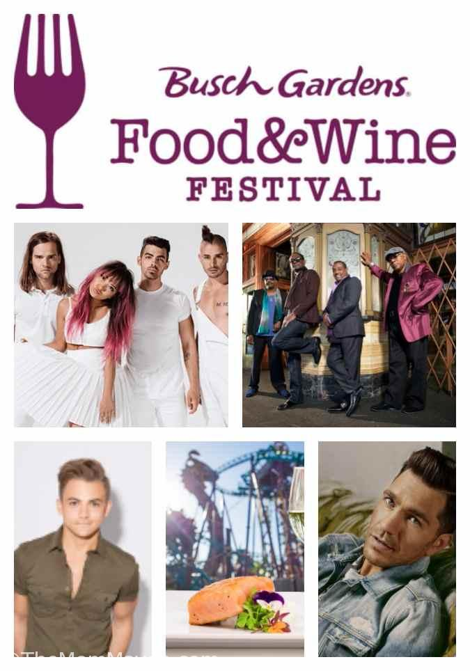 Busch Gardens Tampa Bay Food and Wine Festival 2017