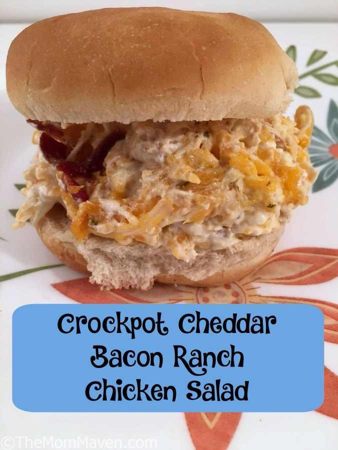 This Cheddar Bacon Ranch Chicken Salad recipe is a new twist on an old favorite.