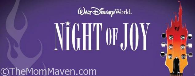 Walt Disney World has released the artist line-up for Night of Joy 2017!