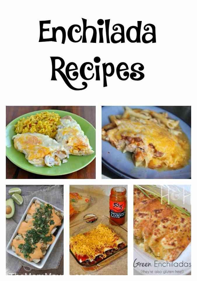 30+ Mexican Recipes to Crush Your Every Craving - Enchiladas