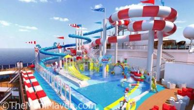 Dr Seuss WaterWorks Debuts on the Carnival Horizon in 2018