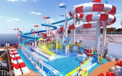 Dr Seuss WaterWorks Debuts on the Carnival Horizon in 2018