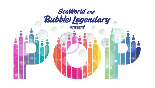 In a first of its kind collaboration SeaWorld and Bubble Legendary present Pop, a live performance that takes inspiration from bubbles found in the sea and brings them to life in an amazing artistic display that is distinctly SeaWorld.