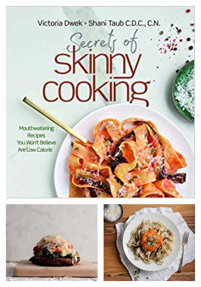 With their new cookbook, Secrets of Skinny Cooking bestselling cookbook author Victoria Dwek and nutritionist Shani Taub show home cooks how to create exciting, flavorful, and filling meals... all for a fraction of the calories they'd typically be.