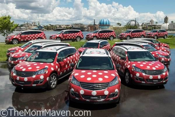 The Minnie Van service is a whimsical, point-to-point transportation service that will help guests get around Walt Disney World Resort in a jiffy.