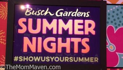 Our Visit to Busch Gardens Summer Nights