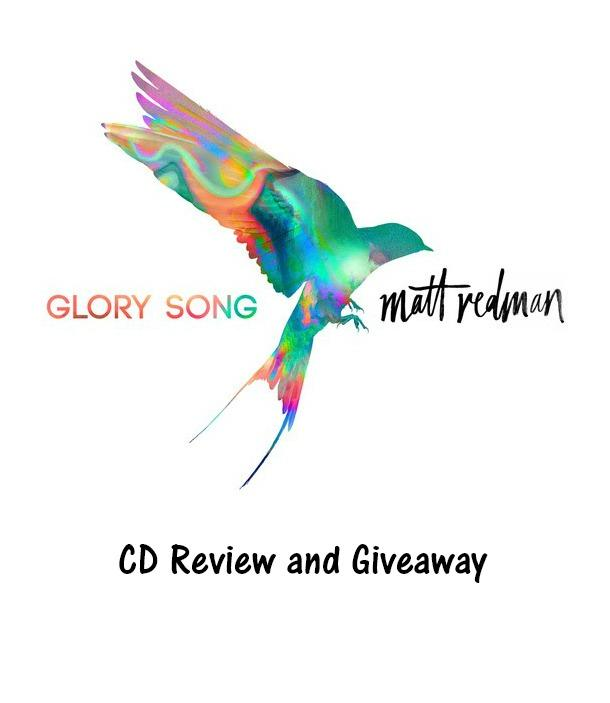 I have been a fan of Matt Redman's music for a long time. Matt's latest worship album, his 13th, Glory Song releases on September 29, 2017.