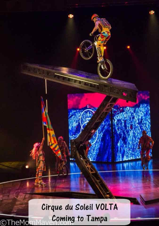 Cirque du Soleil is thrilled to announce a new production that will premiere February 2018 in Tampa: Cirque du Soleil VOLTA