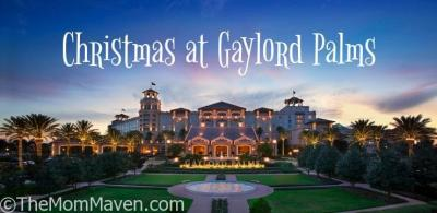 Our Visit to Christmas at Gaylord Palms