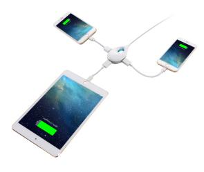 The Innergie LifeHub Plus is the perfect gift for any gadget lover. We all need to charge multiple devices at one time!